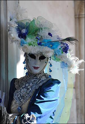 Un costume du carnaval de Venise